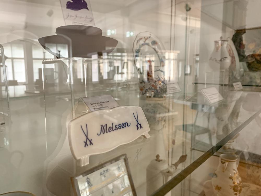 Meissen old Logo Porcelain City Museum