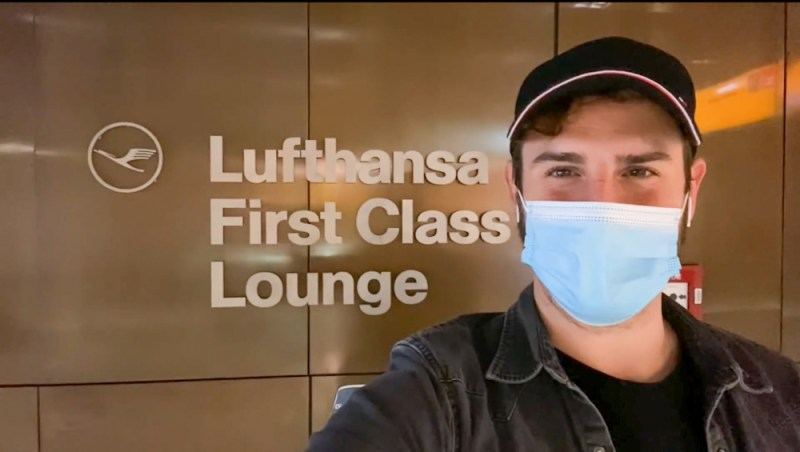 First class travel YouTuber James asquith