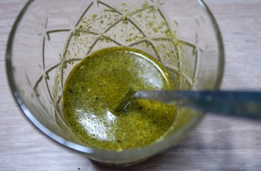 green pesto salad dressing recipe Blog joydellavita