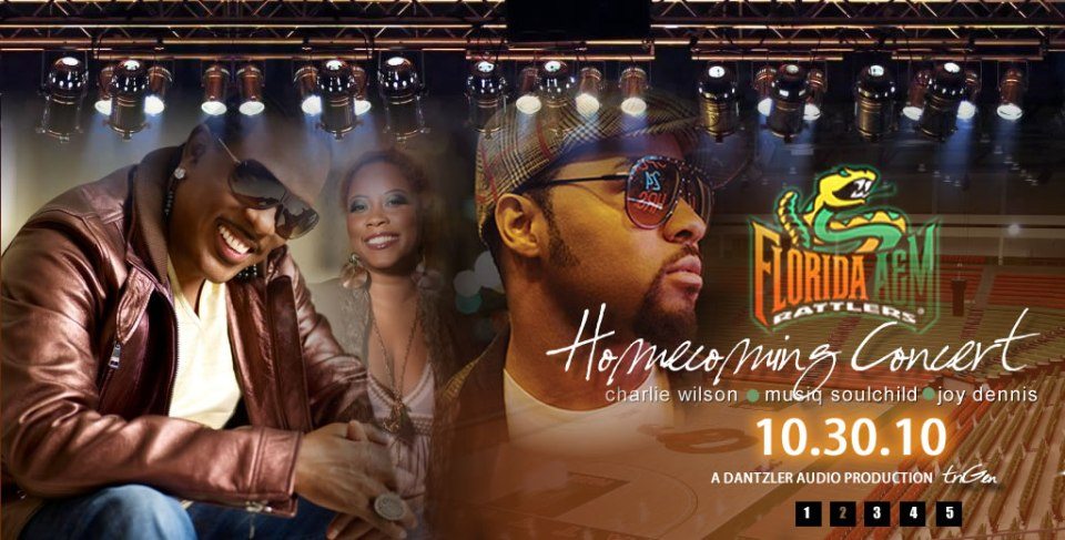 The 2010 FAMU Homecoming Concert Ft. Charlie Wilson, Musiq Soulchild & Joy Dennis