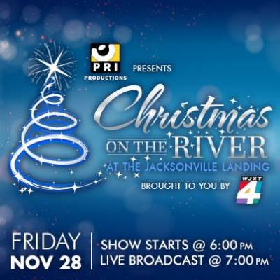 Joy Dennis performs for the 28th Annual Christmas on River Tree Lighting Ceremony at the Jacksonville Landing – Nov 28