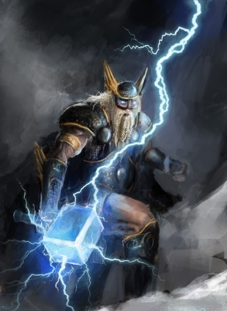 Image result for Thor norse god