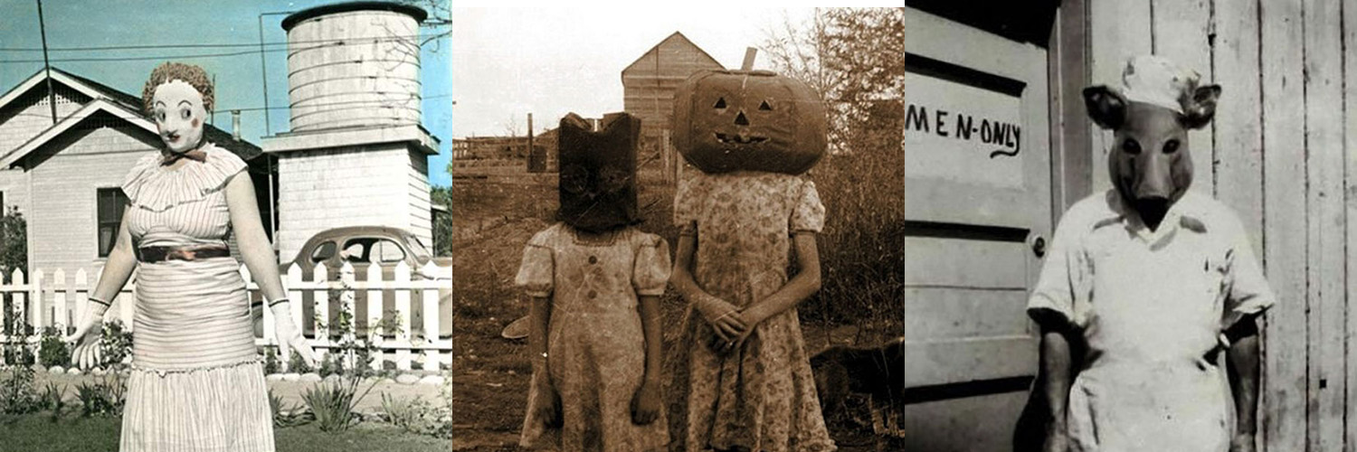 60 Creepy Vintage Halloween Costumes That Will Make You Crap Yourself in Fear!