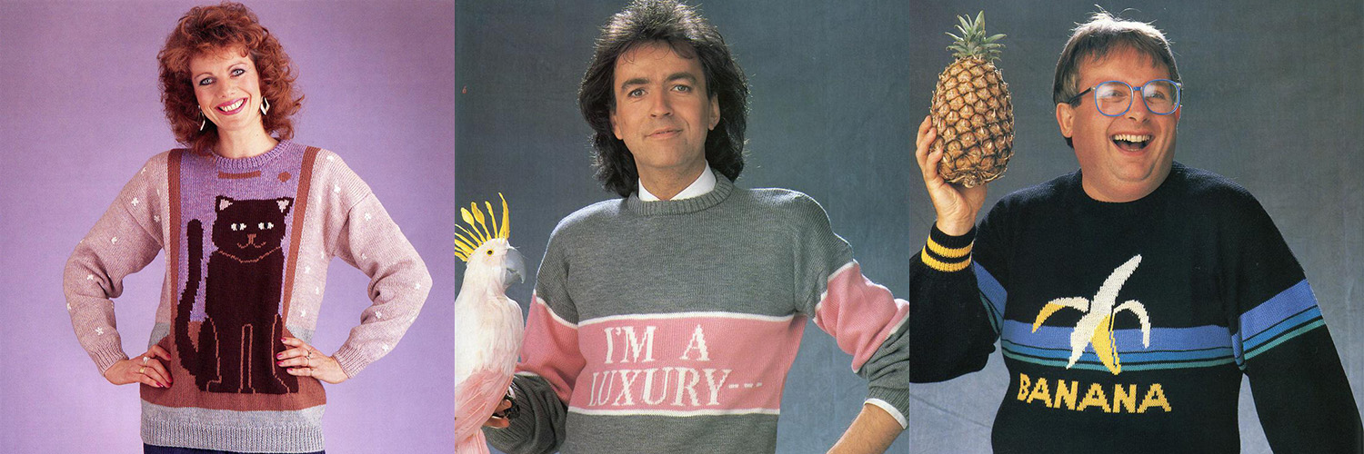 A Collection of Absolutely Crazy But Beautiful 1980s Sweaters
