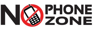 NO PHONE ZONE_TextOnly