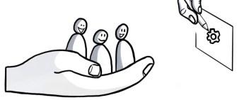 Accompagnement d'un groupe par le dessin