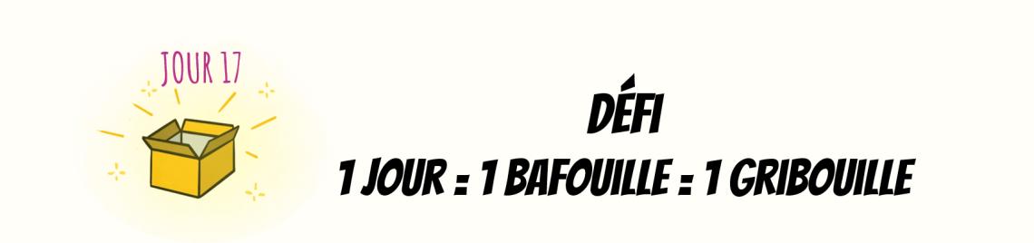 Illustration lancement défi 1 jour 1 bafouille 1 gribouille