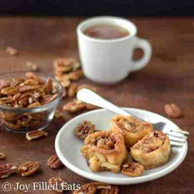 Caramel Pecan Sticky Buns – Low Carb, Keto, THM S, GF