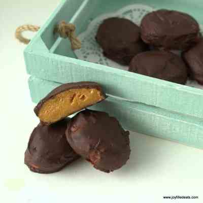 Reese's Peanut Butter Eggs Copycat – Low Carb & Sugar Free