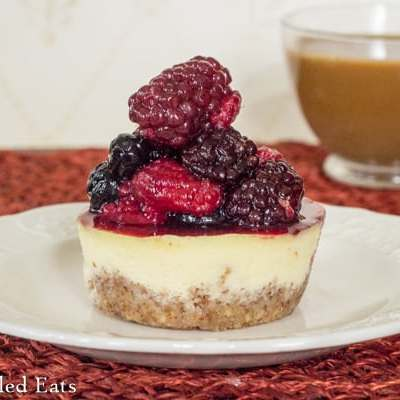 Almond Crusted Breakfast Cheesecake