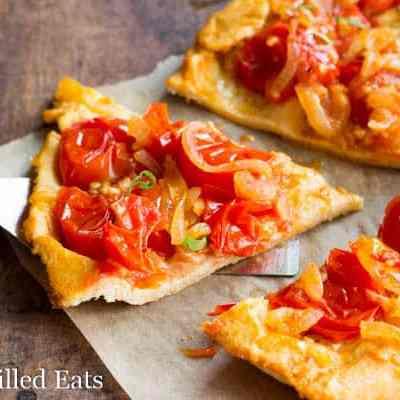 Rustic Tomato Tart – Grain Free & Low Carb