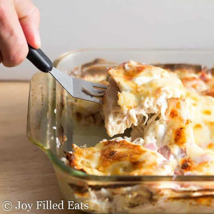 Chicken Cordon Bleu Casserole – Low Carb, Keto, THM S