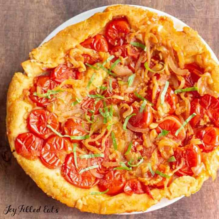 Tomato Pie - Low Carb, Keto, Gluten-Free, THM S - Joy ...