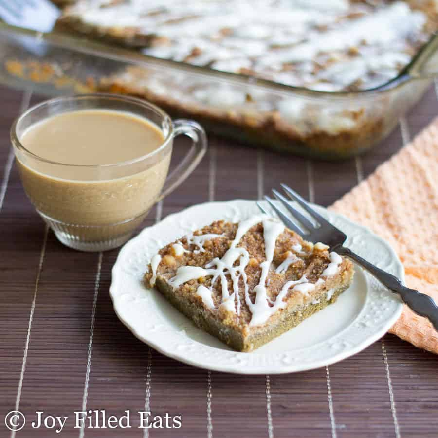 Pumpkin Pie Dump Cake – Low Carb, Sugar Free, THM S