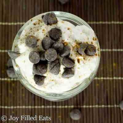 Whipped Cannoli Mousse – Low Carb, THM S