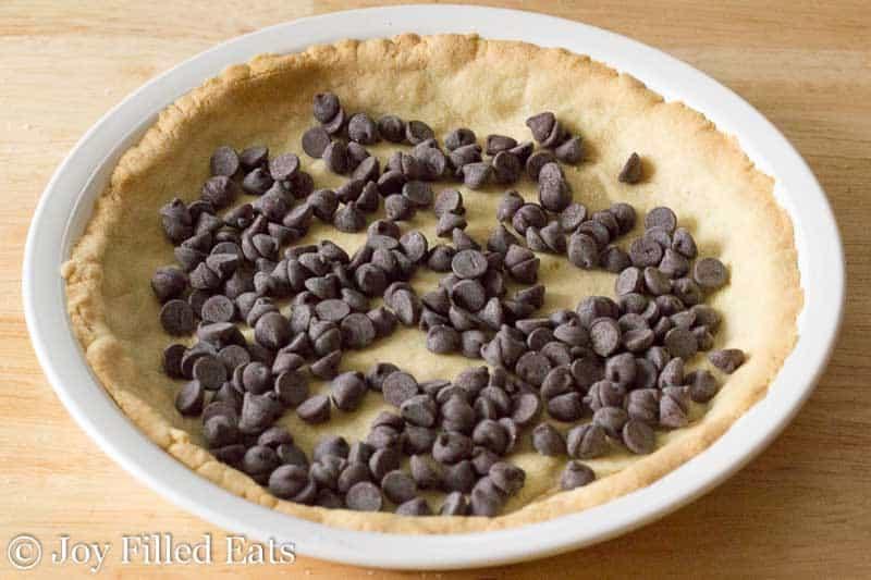 Fudge Brownie Pie - Low Carb, THM S, Grain Free, Sugar Free, Gluten Free