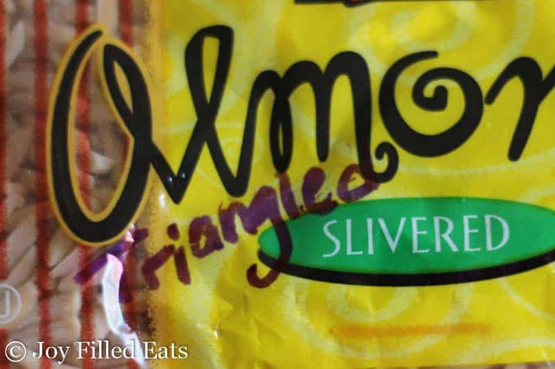 Triangled Almonds?