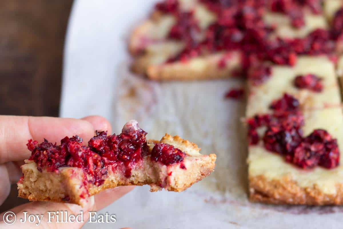 Sweet Cinnamon Cranberry Danish - Low Carb, THM S, Grain & Sugar Free