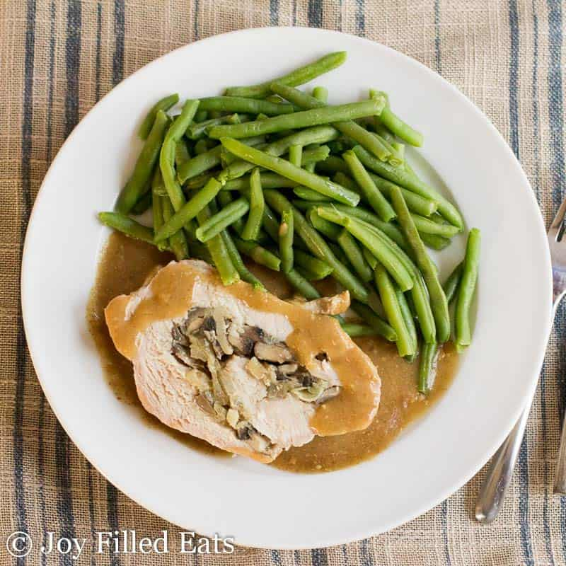 Stuffed Pork Marsala