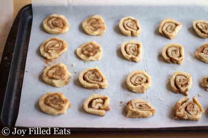 Cinnamon Roll Cookies - Low Carb, Grain Free, THM S