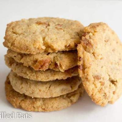 Butter Pecan Cookies – Low Carb, THM S