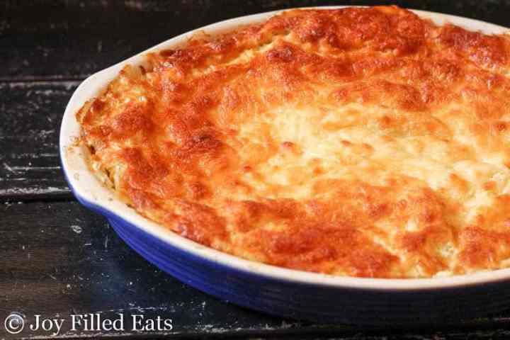 Twice Baked Spaghetti Squash - THM FP, Low Carb