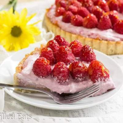 Raspberry Mousse Tart – Low Carb, Grain Free, THM S