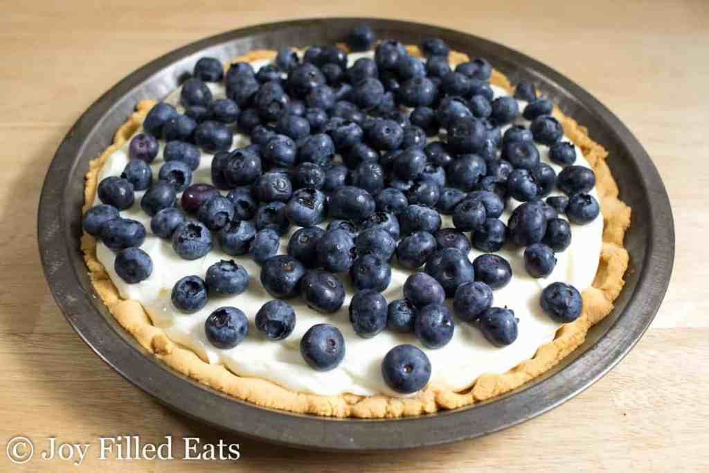 Lemon Ricotta Pie - Low Carb, Grain Gluten Sugar Free, THM S