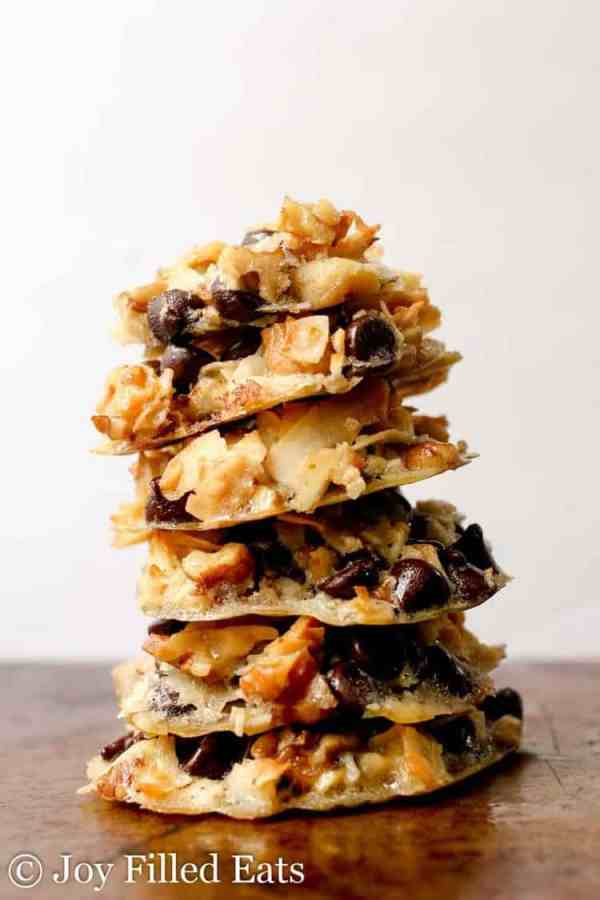 Five Minute Magic Cookies - Low Carb, Grain Gluten Sugar Free, THM S