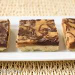 Salted Caramel Chocolate Squares - Low Carb, Grain Gluten Sugar Free, THM S, Keto