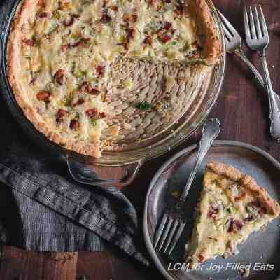Low Carb Quiche with Bacon & Leeks – Grain Free THM S