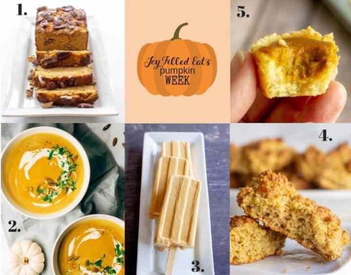 compilation of pumpkin recipes