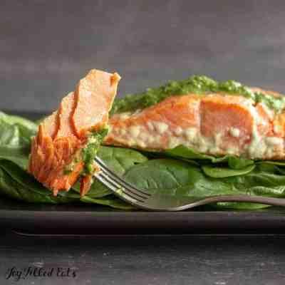 Pesto Salmon Recipe – Easy, Low Carb, Keto, THM S