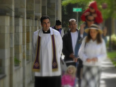 confession on the procession