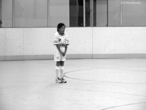sparkles first indoor soccer game