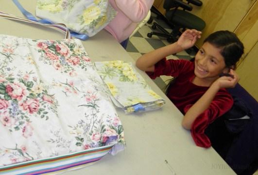 lf sparkles apron
