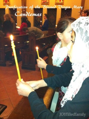 candlemas girls with candles