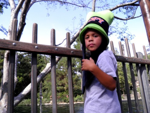 9.10.12 gian with his goofy hat