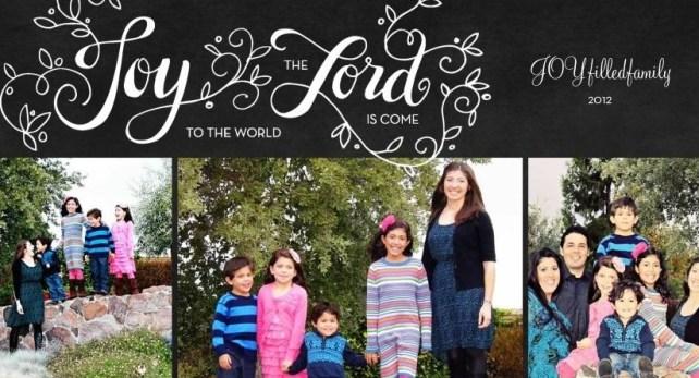 JOY to the world JOYfilledfamily