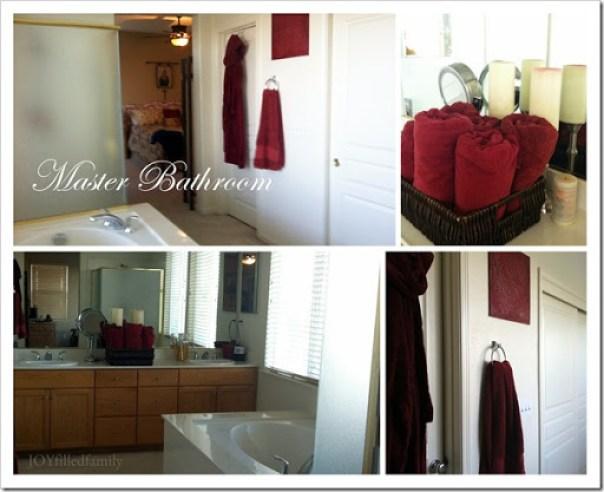 Master Bathroom collage JOYfilledfamily Jan 2013