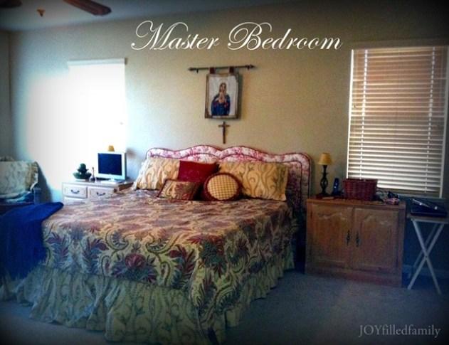 Master Bedroom JOYfilledfamily Jan 2013