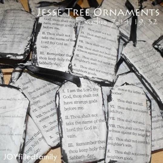 Jese Tree Ornaments
