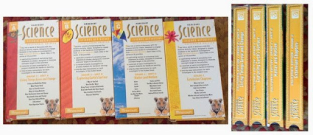 2 - Harcourt Science - 4 Videos