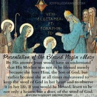 Presentation of the Blessed Virgin Mary