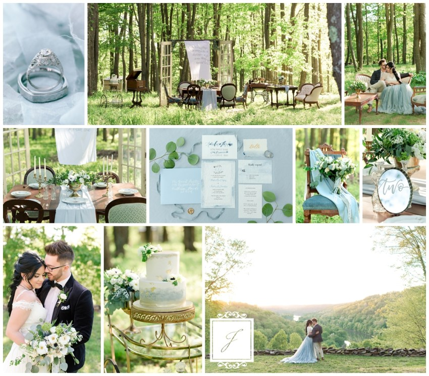Elegant Garden Party Meets Lush Forest Leechburg Wedding by Joy Filled Occasions a Greensburg Wedding Planner