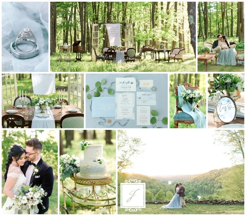 Elegant Garden Party Meets Lush Forest Leechburg Wedding by Joy Filled Occasions a Greensburg Wedding Planner