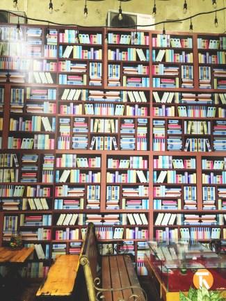 Bookshop road!