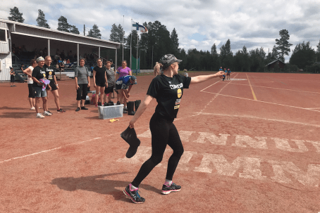 Ode to self-derision at the Bootthrowing World Championship  in Finland