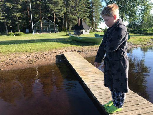 A little prince  on board Begoodee (Finland)