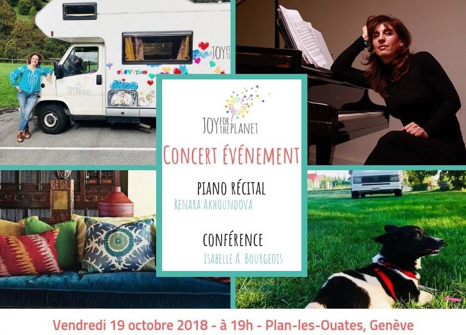 Concert-Conférence de soutien à Genève